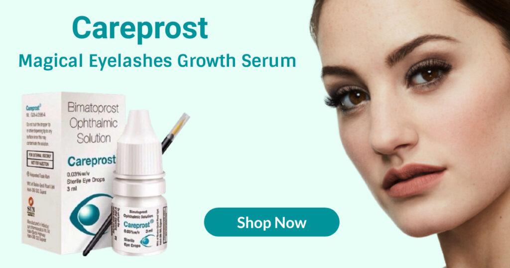 Careprost magical eyelashes growth serum